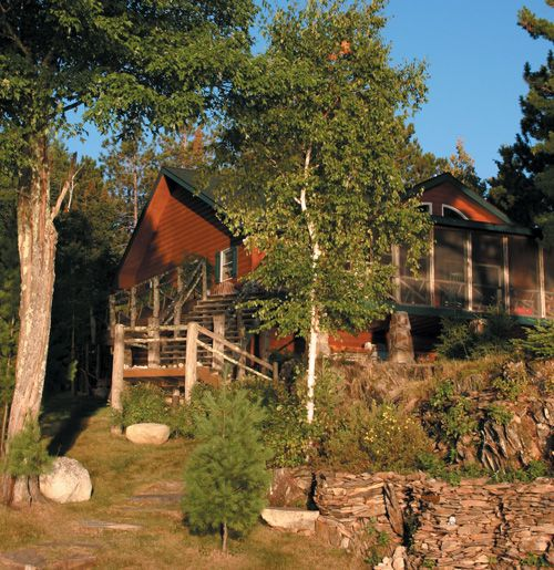 Living Large, Loving Life   On The Water   Cabin Life Magazine #Minnesota #  · Life MagazineLog HomesLog ...