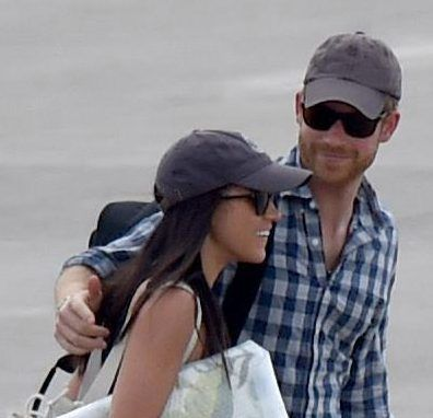 thesun: Prince Harry and girlfriend Meghan Markle spent her 36th birthday together as they left for an African vacation, August 4, 2017