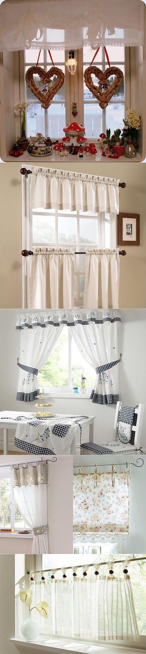 Оригинальное оформление окна на кухне | Интерьер и Дизайн