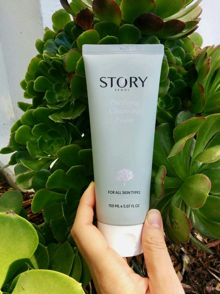 #PurifyingCleansingFoam gently yet effectively removes skin impurities, sunscreen and make up with the power of nature 🌱🌿🌾🌳 www.storyseoul.com  🇰🇷#madeinKOREA #HealthySkincare #NonToxic #StorySeoul