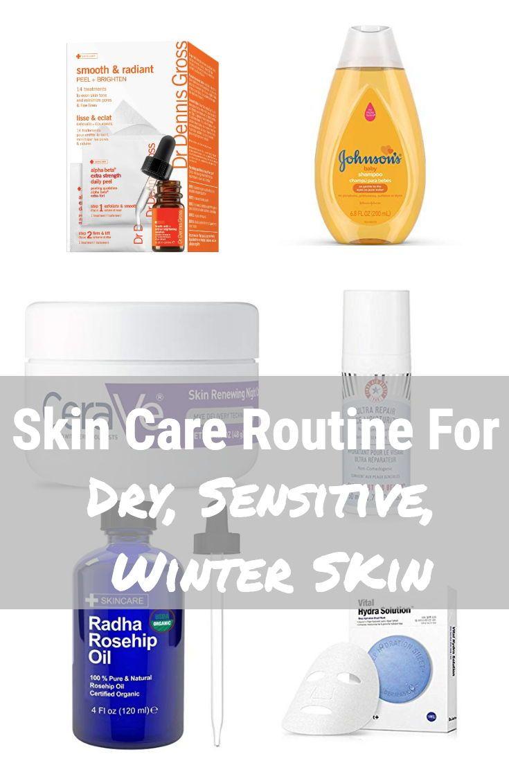 Skincare Routine For Dry Skin Hat On The Map Eczema Skin Care Skin Eczema Winter Skin