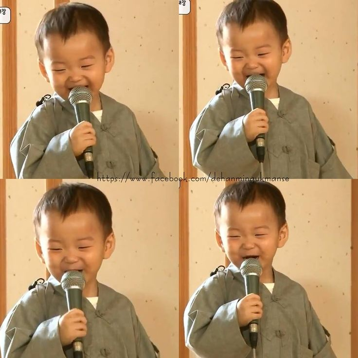 I am Song Minguk and I love singing
