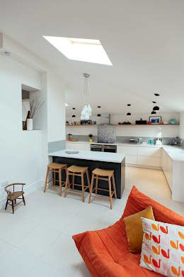 Guiseley: modern Kitchen by PARKdesigned Architects