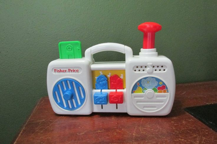 Fisher Price Radio Activity Center by LuRuUniques on Etsy