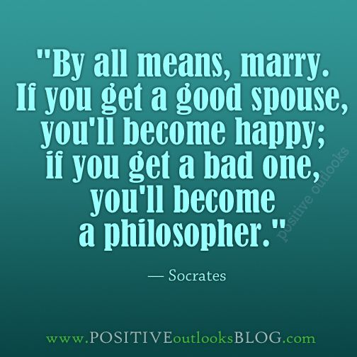 One of my favorites by Socrates.