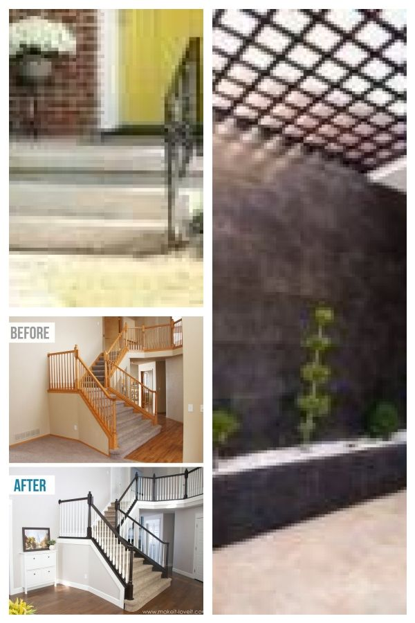 33 Ideas Wrought Iron Stairs Railing Makeover For 2019 Basement