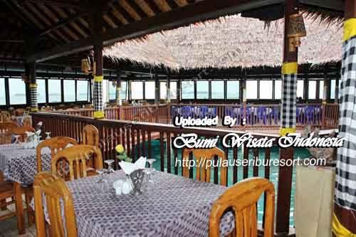Floating Restaurant Pulau Pelangi Kepulauan Seribu   Thousand Islands Indonesia, Jakarta