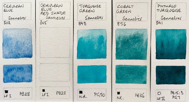 Sennelier Watercolours Full Range Sennelier Watercolor Paint