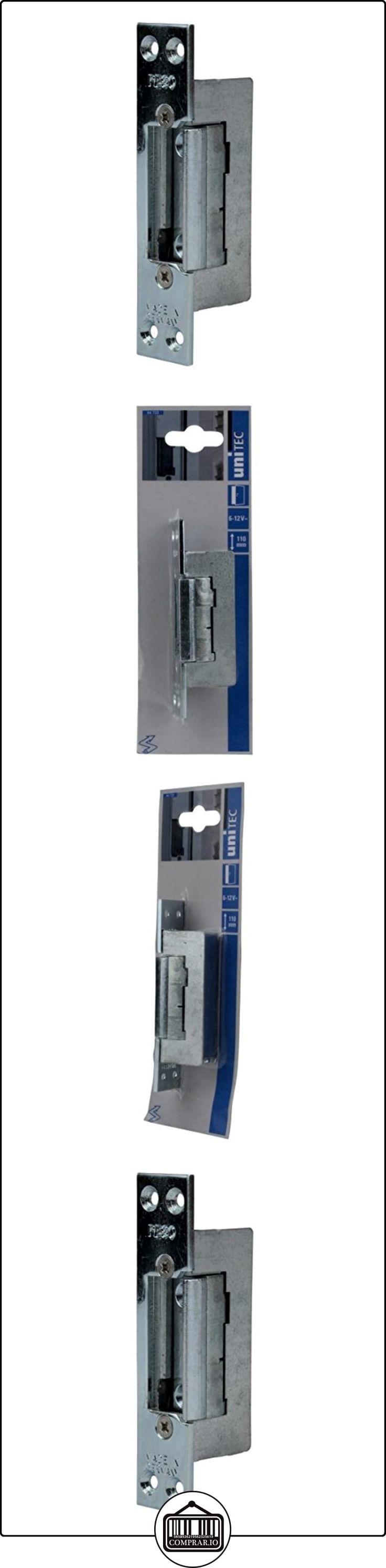 uniTEC 44720 - Cerradura eléctrica para puertas (aluminio, 110 mm)  ✿ Seguridad para tu bebé - (Protege a tus hijos) ✿ ▬► Ver oferta: http://comprar.io/goto/B002ZH10G4