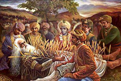 bhisma's bed of arrows