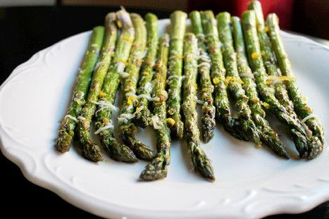 Asparagus with Lemon and Parmesan Cheese - Ingredients:1 lb. asparagus ...