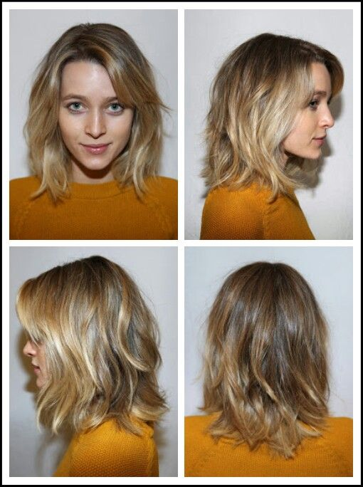 Medium length shaggy bob- this is EXACTLY what i am after!