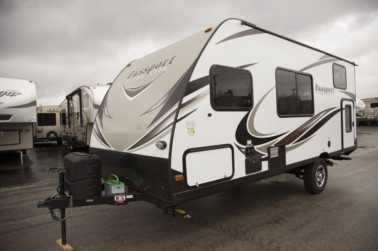 """LIGHTWEIGHT FAMILY FUN!!!  2017 Keystone Passport Express 175BH You work hard to provide for your family! Why not provide them with time together in the 2017 Passport Express 175BH? This RV has sleeping space for the whole family and plenty of amenities to keep everyone comfy anywhere you go! It's super easy to tow at only 21' 3"""" long and 3,160 lbs dry! Give our Passport Express expert Sarah-Jean Ciezak a call 231-903-6220 for pricing and more information."""