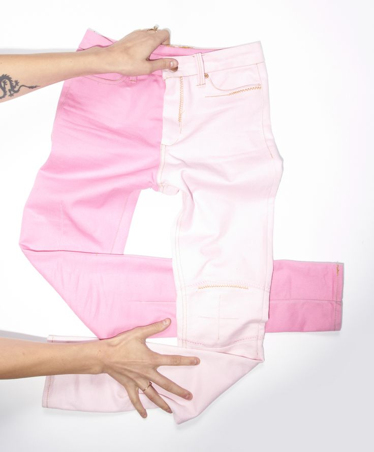 BAZZUL pink #denim