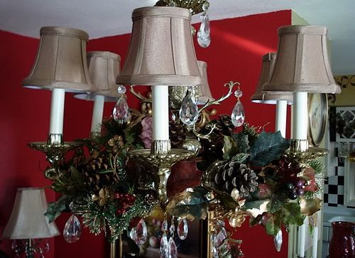 Decorating Ideas > 1000+ Ideas About Christmas Chandelier Decor On Pinterest  ~ 035752_Christmas Decorations Ideas For Chandeliers