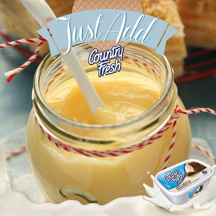 Custard and Country Fresh is delightful!