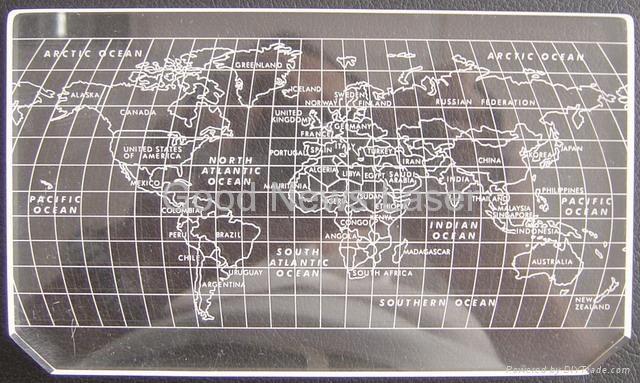 Acrylic World Map Laser Engraving Pinterest World