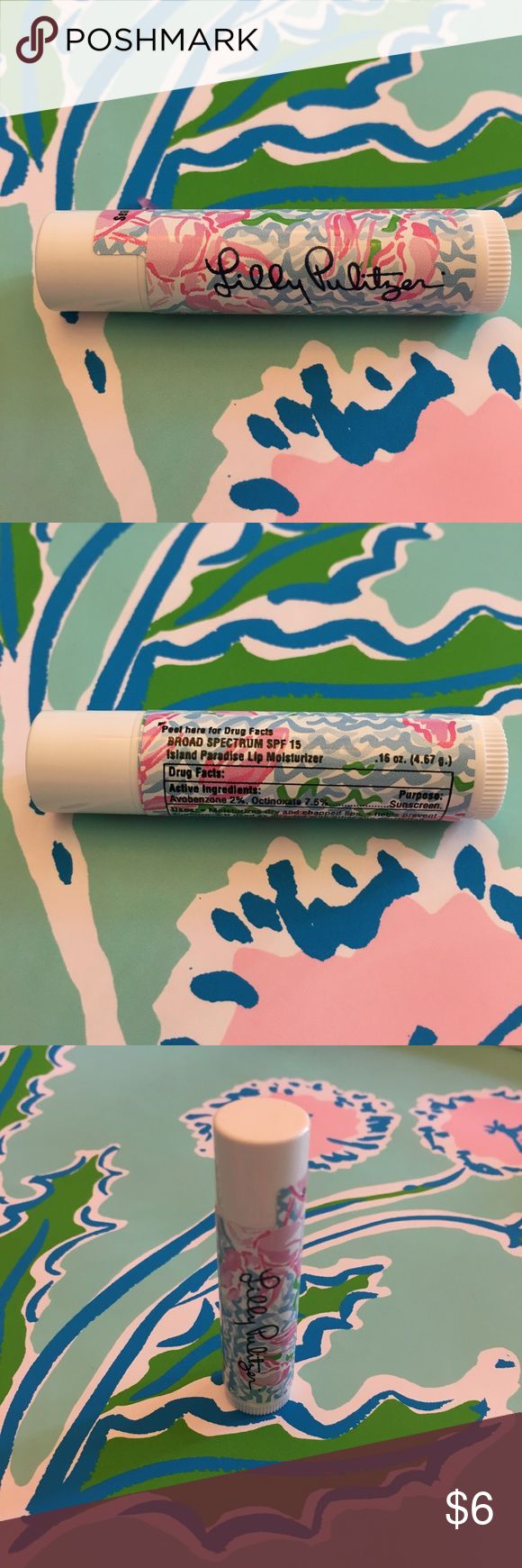 Lilly Pulitzer Chapstick Brand new Lilly printed chapstick! Lilly Pulitzer Makeup
