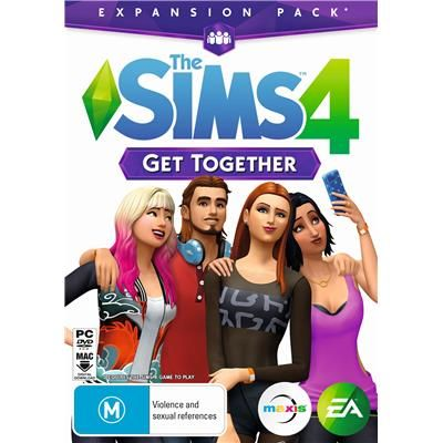The Sims 4 Get Together (Expansion Pack)