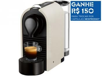 Cafeteira Espresso 19 Bar Nespresso U - Pure Cream