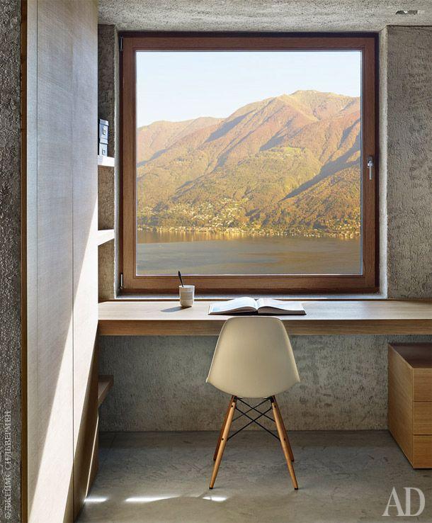 Бетонный дом в Швейцарии, 190 м²
