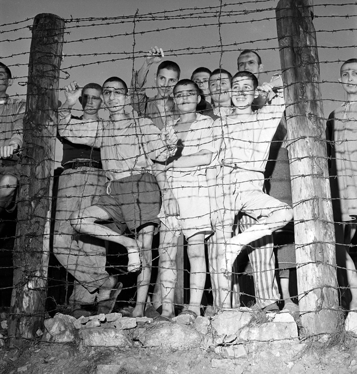 Dachau Concentration Camp Building | Liberated ...