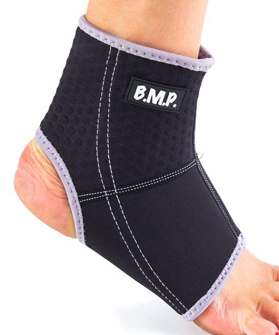 Black Breathable Lightweight Neoprene Ankle Compression Sleeve