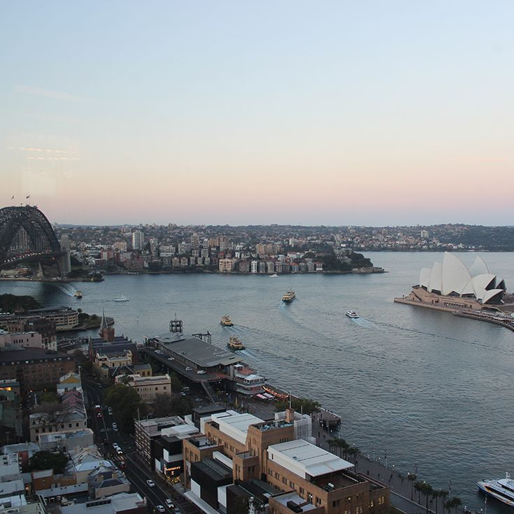 The view at dusk, Sydney Harbour :: August 2013  #meetjaneiredale2013