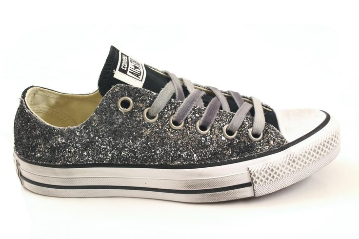 Sneakers for Women On Sale, Limited Edition, Navy Smoked Blue, Canvas, 2017, US 5 (EU 36) Converse