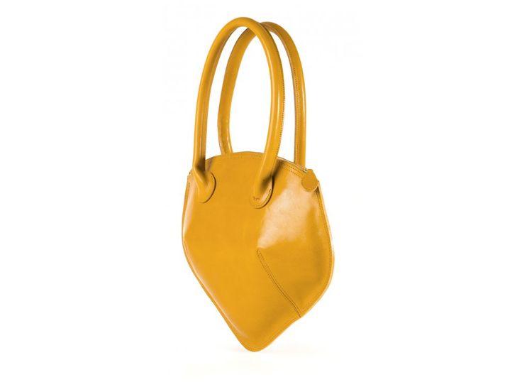 kožená kabelka HEART - dámská kabelka z kolekce LOVE ve tvaru srdce (v 33 cm x š 40 cm x h 14 cm)