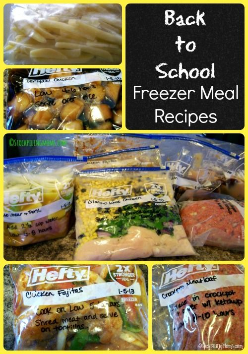 air jordan 2010 anniversary edition Back to School Freezer Meal Recipes that will save you time in the kitchen and money from your budget   freezermeals