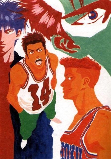 Takehiko Inoue, Slam Dunk, Hisashi Mitsui, Ryota Miyagi, Kaede Rukawa