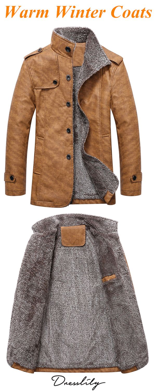 6b838f8af262c Stand Collar Single Breasted Epaulet Design Coat.  dresslily  warmoutfits   coats