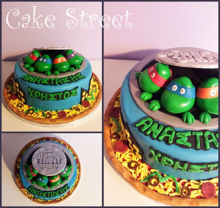 Turtle Ninja Cake!