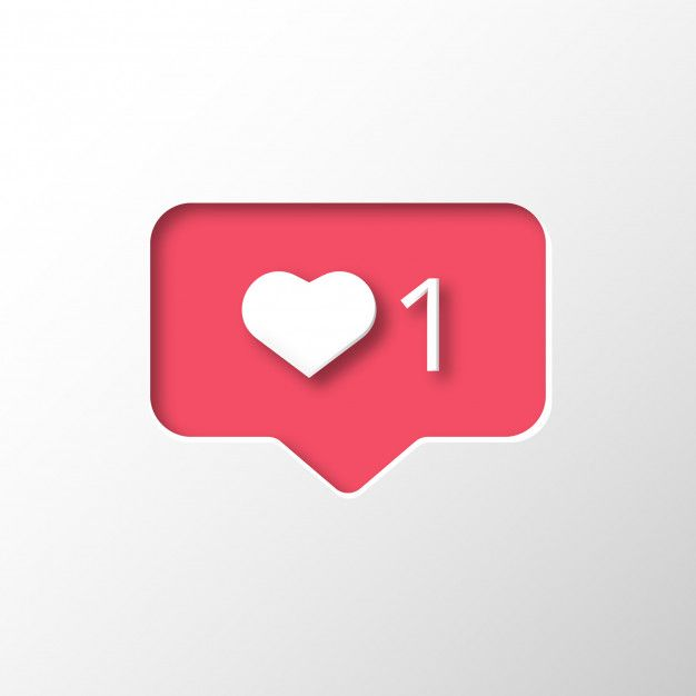 Download Instagram Like Notification For Free Like Symbol Free Instagram Vector Free