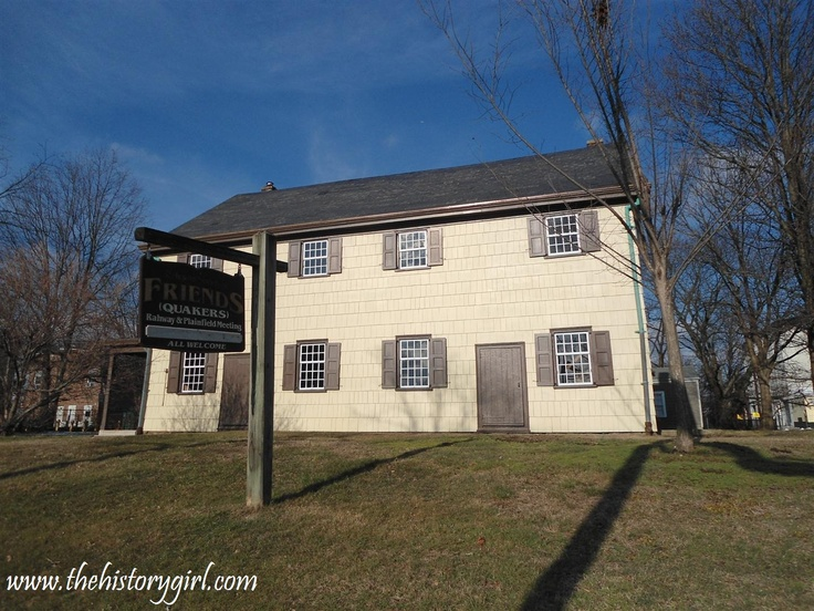 The Rahway & Plainfield Friends (Quaker) Meeting House in ... Quaker Meeting House