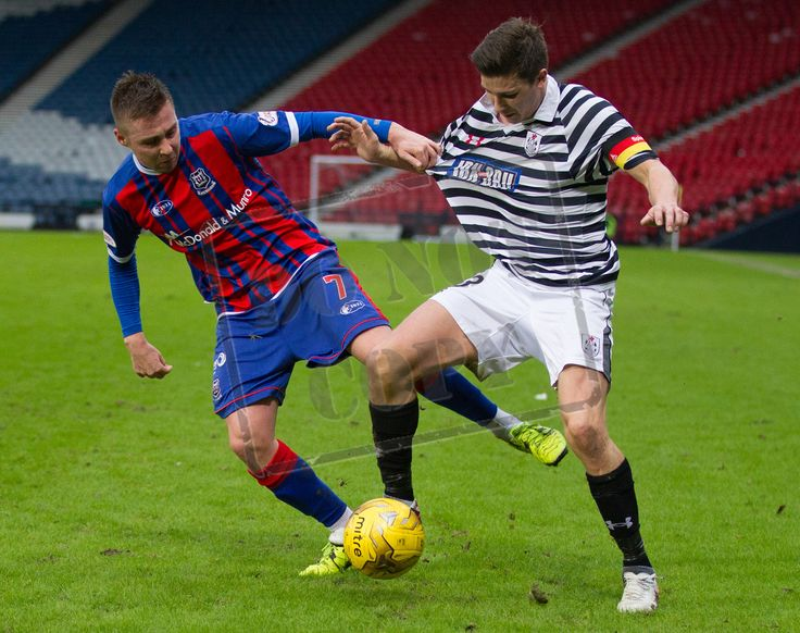 Queen's Park's Sean Burns on the ball during the SPFL League Two game between Queen's Park and Elgin City.