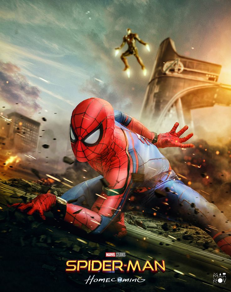 """""""Spider-Man: Homecoming - Poster Art"""""""
