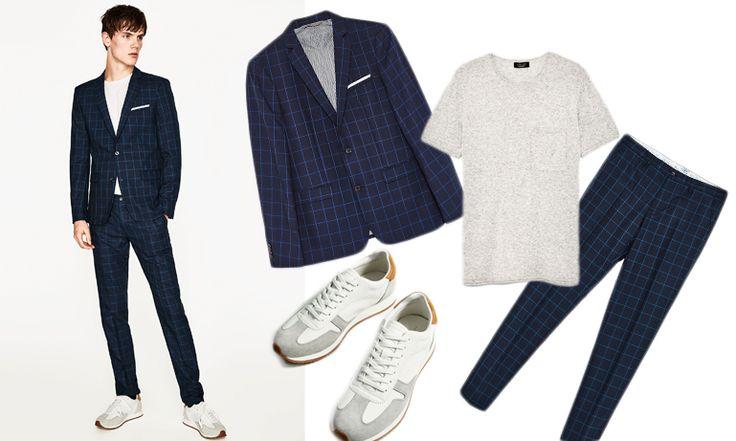Senaste trenden: 8 rutiga kostymer som kryddar din sommargarderob