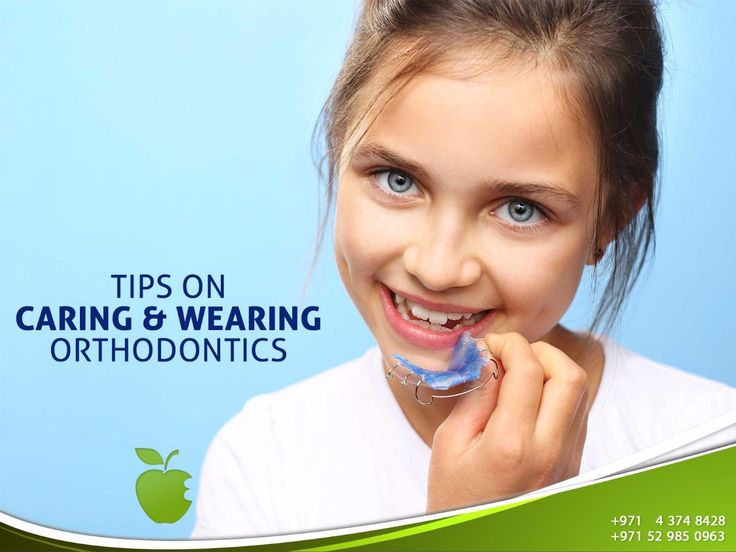 * when you have braces or other orthodontic appliances you should follow good oral hygiene .   -Brushing your teeth twice a day with fluoride toothpaste and flossing daily .  -Keep regular dentist visiting in Dubai to help keep the gums and teeth healthy.  -Maintain a suitable diet and decrease sugary food.  -You may be not allowed to eat some solid foods that could hardly bend the wires as popcorn, nuts, hard candy, icy foods, chewing gum, caramel or candy.  ---------------------------  Ask…