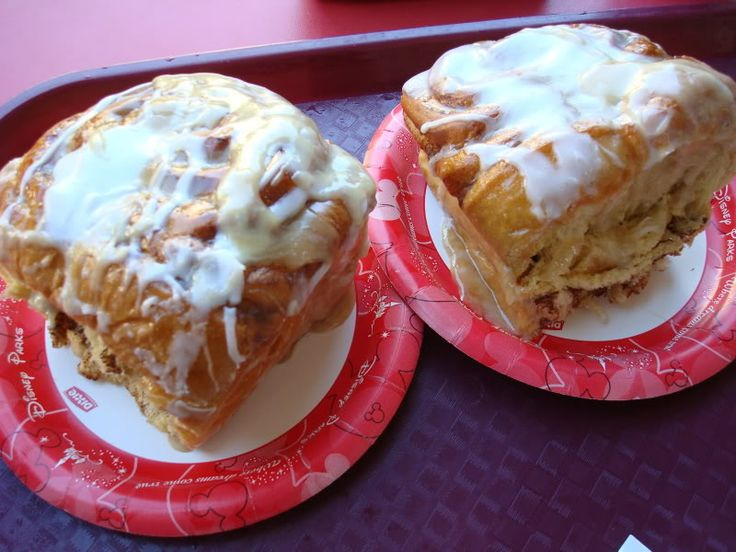 Cinnamon Rolls Recipe served at Main Street Bakery in Magic Kingdom at Disney World! (Had these on our honeymoon :D)