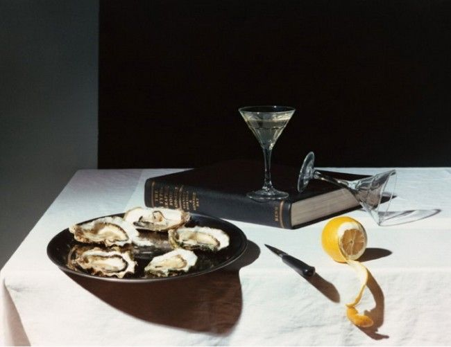 Olivier Richon A devouring eye- Oysters 1989