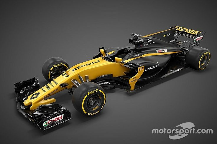 The all new Renault RS17 was launched in yesterdays livesteram. Looks very nice to me. F1 2017