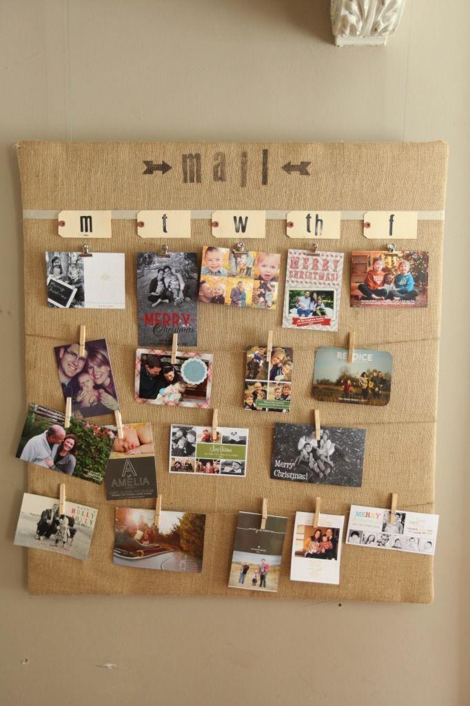 Twist on cork board