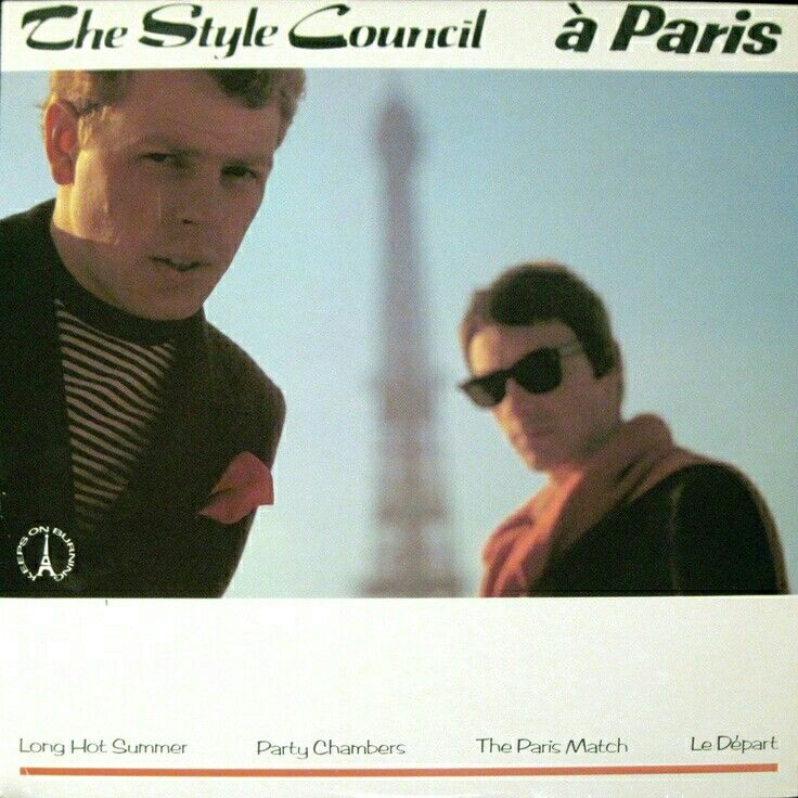 Cool European Style. ....... Paul Weller and Mick Talbot.