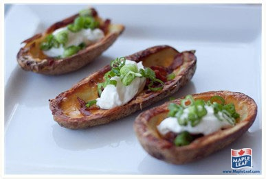 Classic Potato Skins from www.MapleLeaf.com