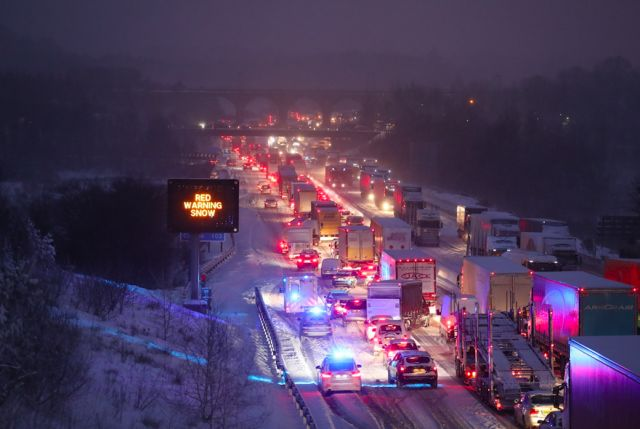 Beast from the East grips Britain as perfect storm turns deadly Swathes of UK placed under red alert as at least four killed in extreme weather conditions. Read the latest updates»