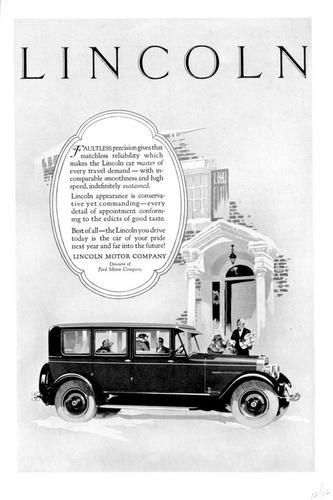 Ford motor company lincoln and motors on pinterest for The lincoln motor company