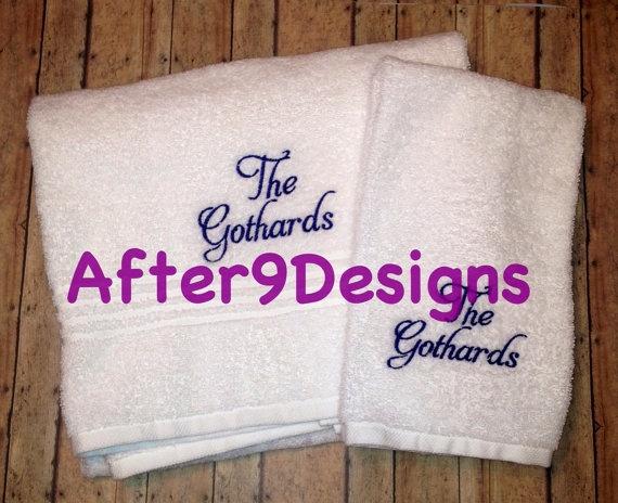 Best Monogram Ideas Images On Pinterest Bath Towels - Monogrammed bath towels for small bathroom ideas