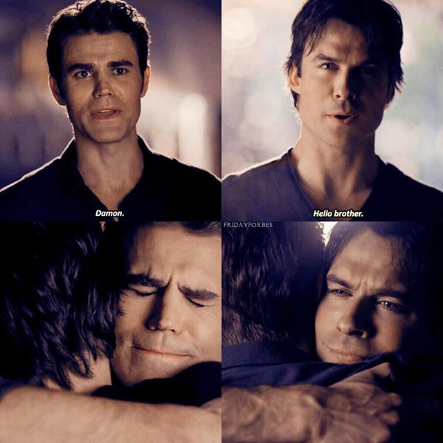 "#TVD 8x16 ""I Was Feeling Epic"" - Stefan and Damon"